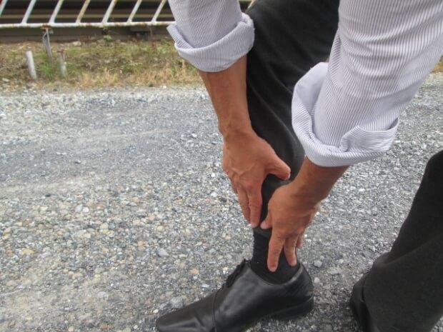 靴擦れ 痛い
