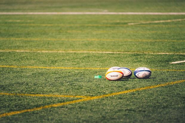 Rugby Sport Ball Grass Leisure  - Vladvictoria / Pixabay